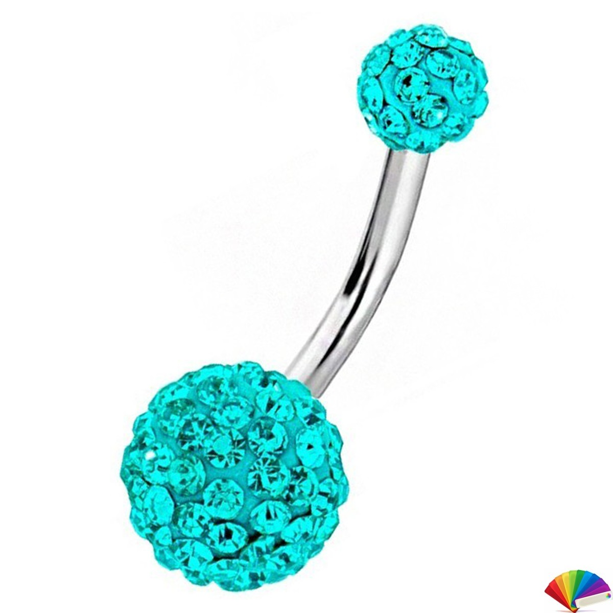 Belly Piercing:PR002 / Light Blue