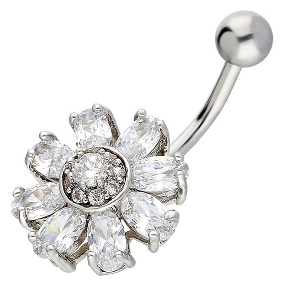 Belly Piercing:PRG117A