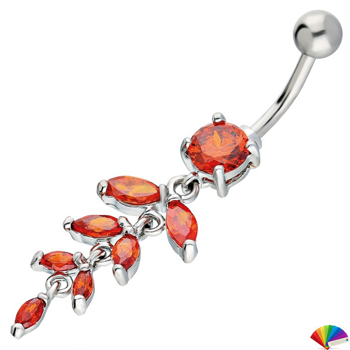 Belly Piercing:PRG124A