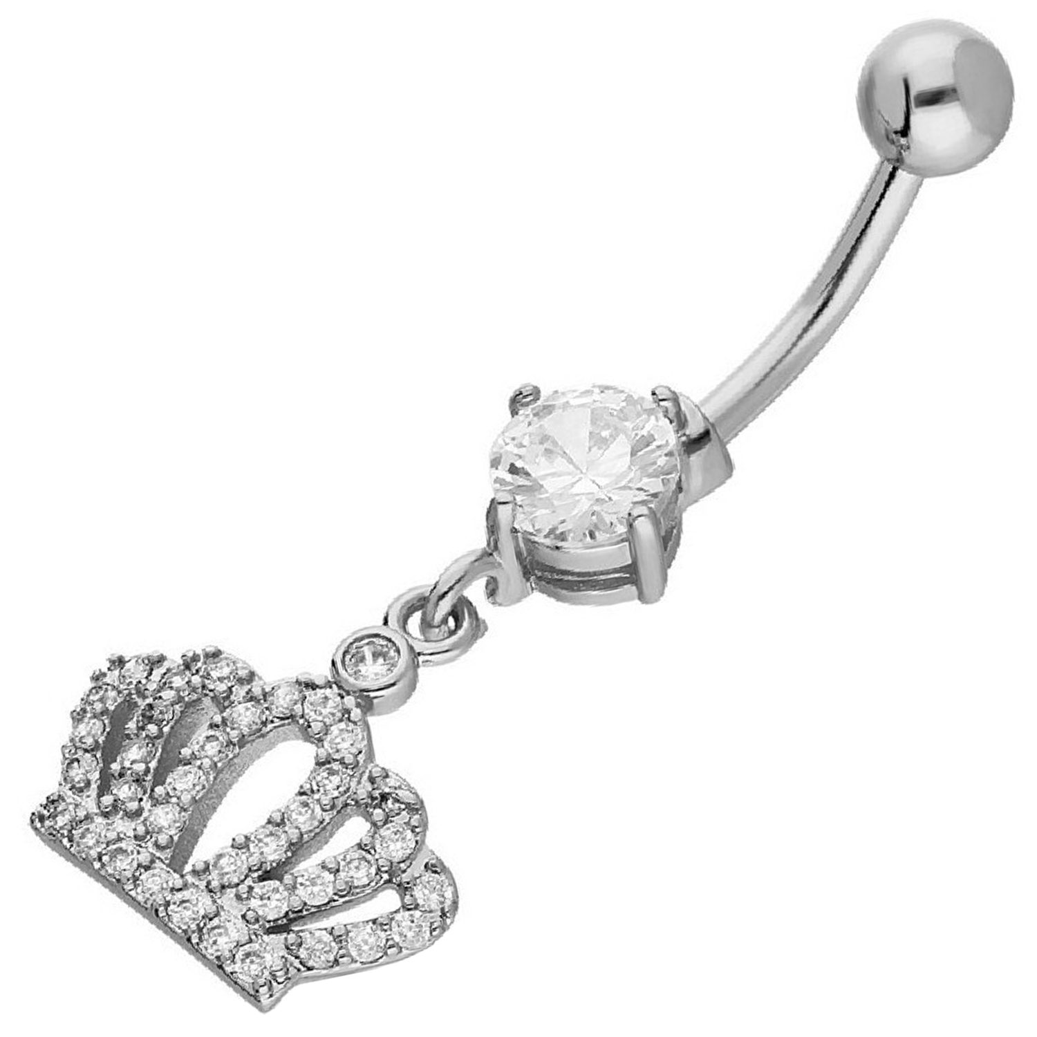Belly Piercing:PRG140A / White