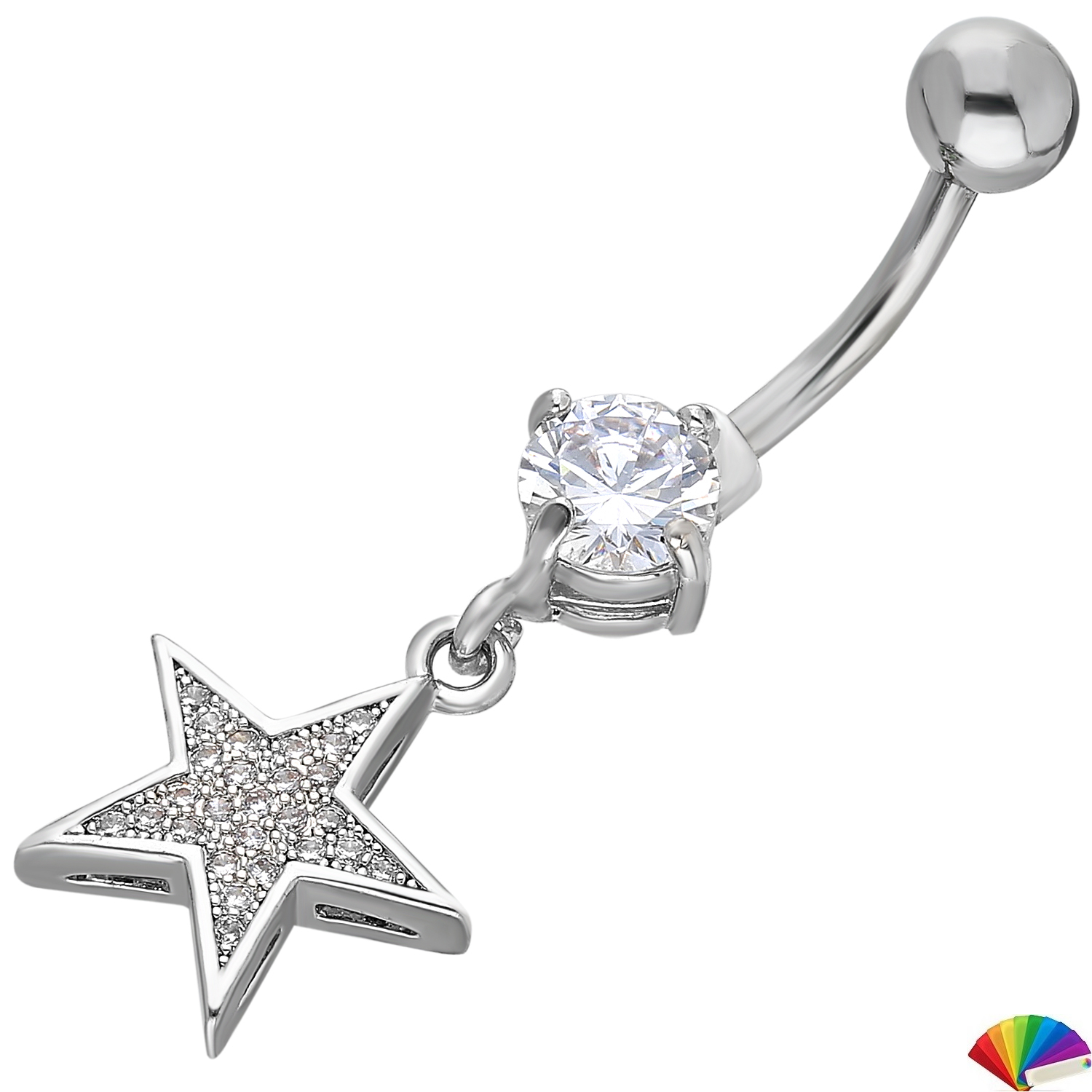 Belly Piercing:PRG169A