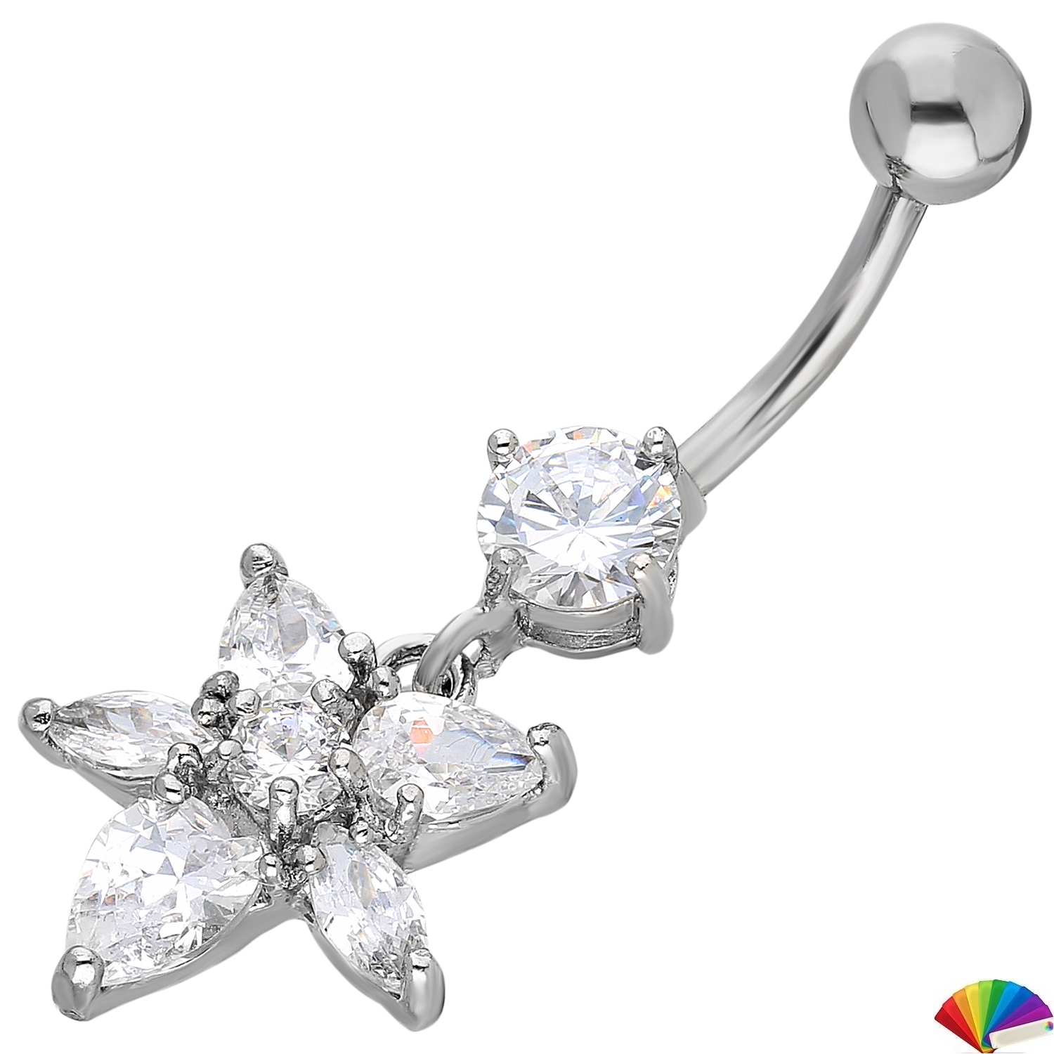 Belly Piercing:PRG186A