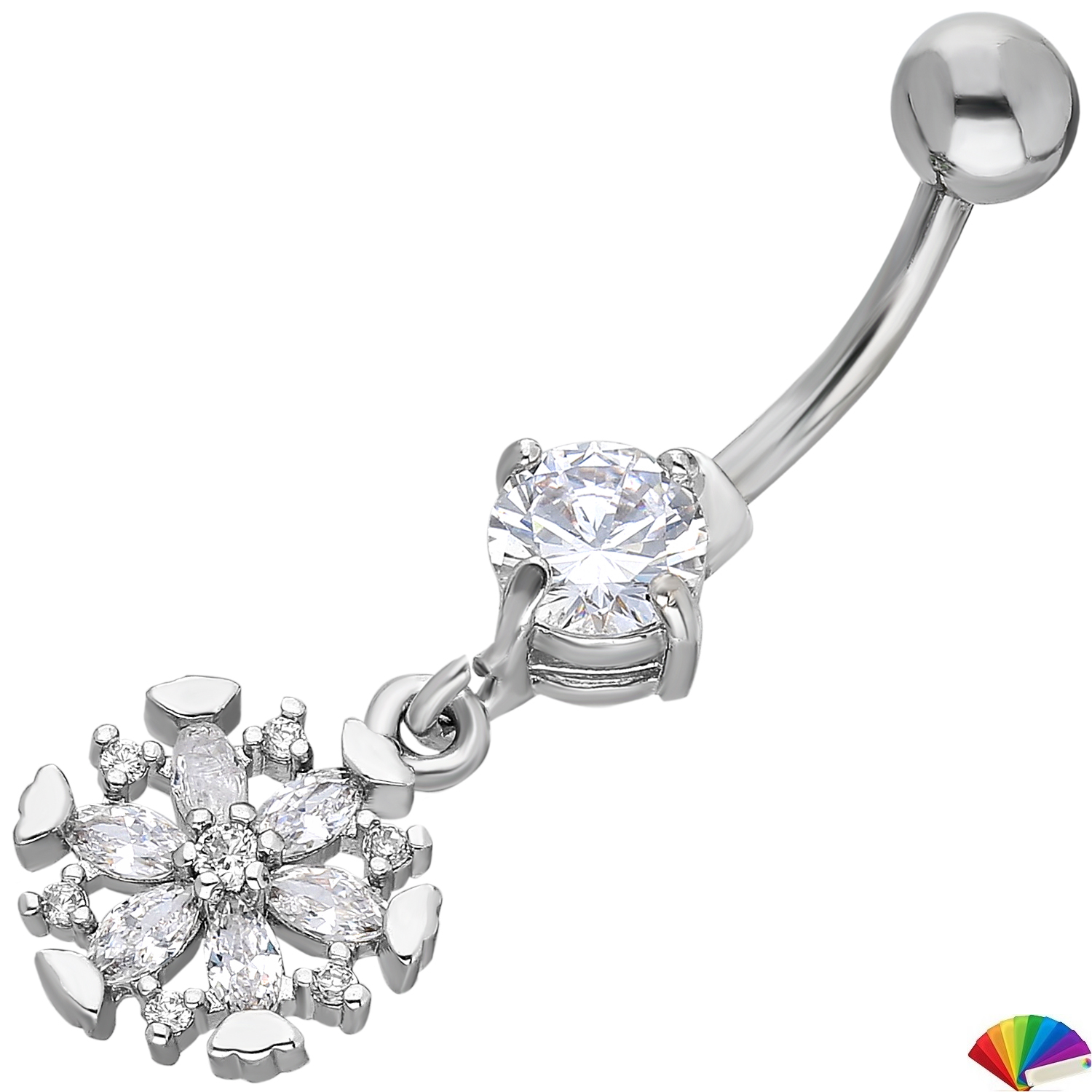 Belly Piercing:PRG194A