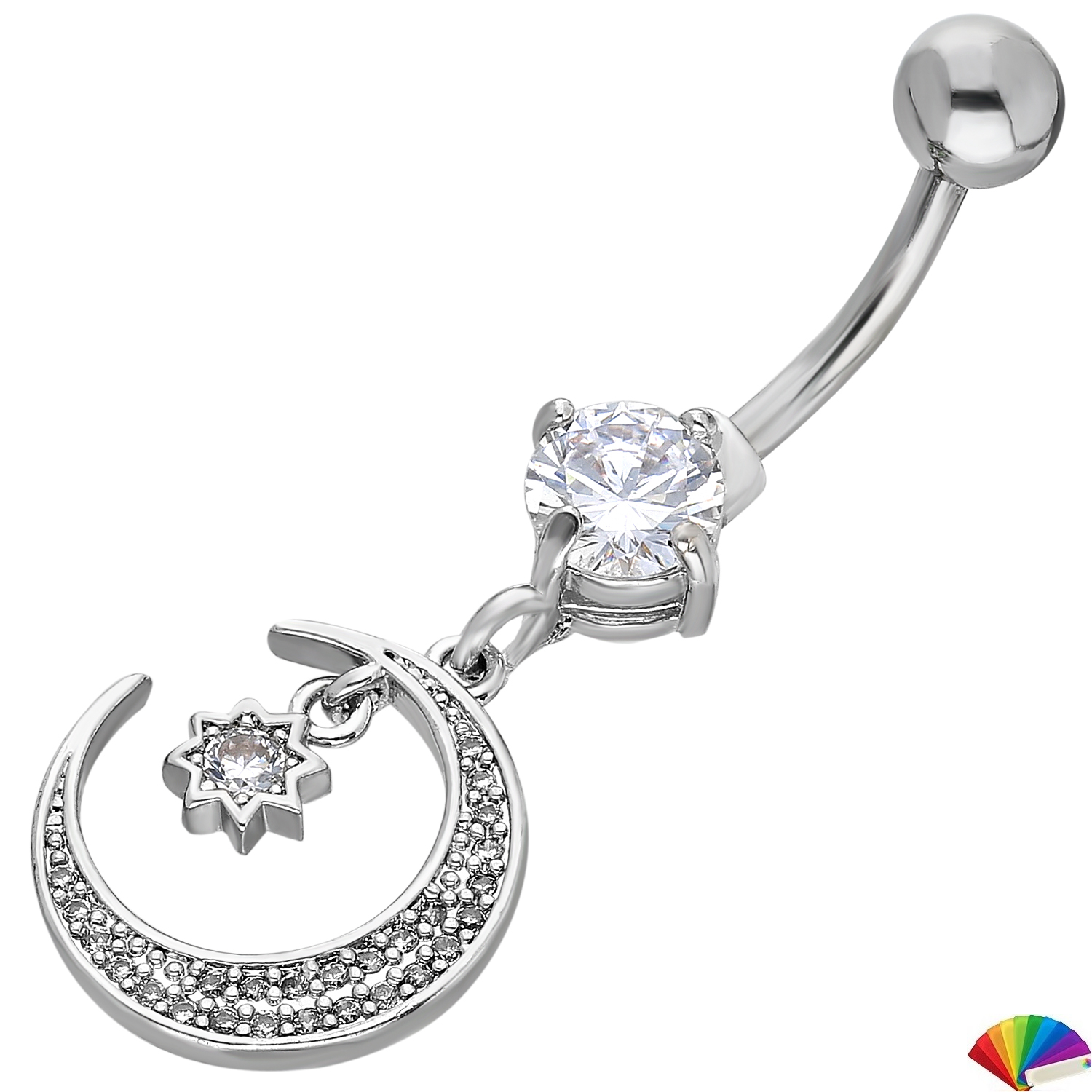 Belly Piercing:PRG214A