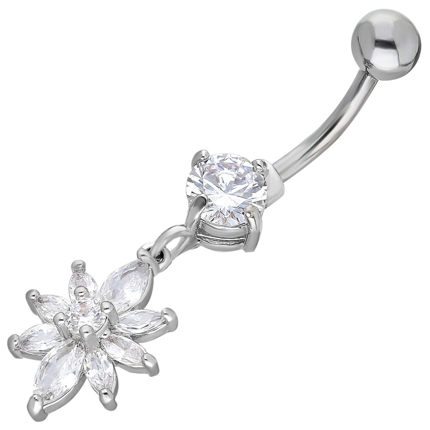 Belly Piercing:PRG244A